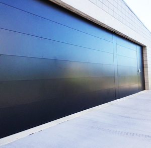 Aluminum Flush Garage Doors