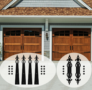 Decorative Garage Door Hardware