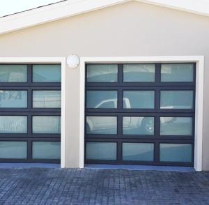 Single Aluminum Garage Doors