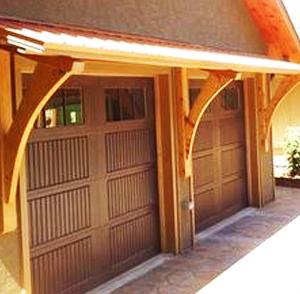 Single Wooden Garage Doors