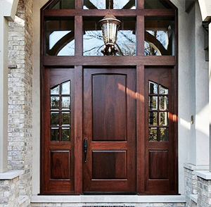 Wooden Entrance Doors